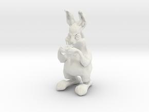 Rabbit 2 in White Natural Versatile Plastic