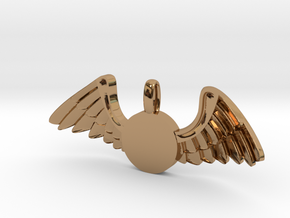 Journeyer-Flying - Key chain in Polished Brass