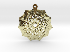 11:11 Stargate in 18k Gold Plated Brass