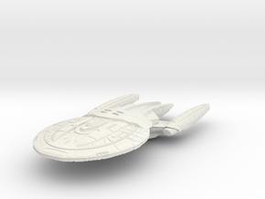 Valcel Class Refit BattleCruiser in White Strong & Flexible