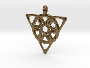 COSMIC FINGERPRINT in Polished Bronze