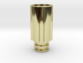 Revolver Chamber Driptip in 18k Gold