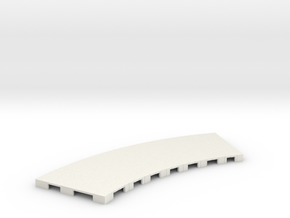 P-65stp-curve-road-only-145r-75-pl-1a in White Natural Versatile Plastic
