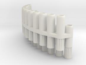 Toyo Matrix in White Natural Versatile Plastic