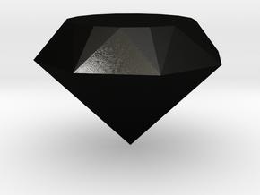 Diamond Tom in Matte Black Steel