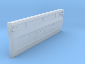 TRUCK TAILGATE in Smoothest Fine Detail Plastic