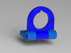 FPV Adjustable Camera Mount in Blue Strong & Flexible Polished