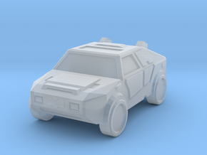 """""""Masterson"""" Utility Vehicle 6mm in Smooth Fine Detail Plastic"""