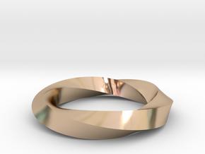 RingSwirl360 in 14k Rose Gold