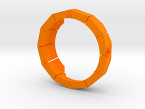 Moto 360 Rugged Case in Orange Strong & Flexible Polished