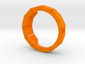 Moto 360 Rugged Case in Orange Processed Versatile Plastic