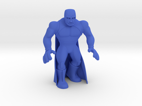 Mexican Wrestler #3: Blue Demon in Blue Processed Versatile Plastic