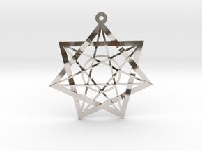 Fairy Stars in Rhodium Plated Brass