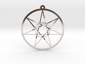 Fairy Star in Rhodium Plated Brass