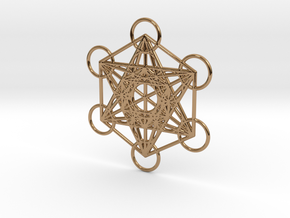 Metatrons cube custom  in Polished Brass