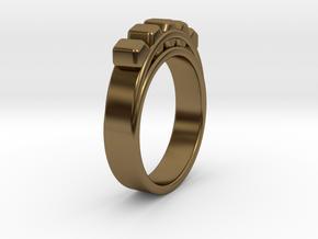 Ø18.19 mm Ring Ø0.716 inch in Polished Bronze