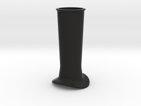 F432 Willits Stack - 8 in Black Natural Versatile Plastic