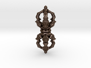 Dorje in Polished Bronze Steel