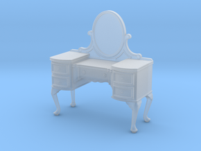 1:24 Queen Anne Vanity in Smooth Fine Detail Plastic