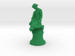 Turtle Boy in Green Processed Versatile Plastic