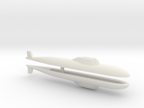 Alfa SSN x 2, 1/2400 in White Natural Versatile Plastic