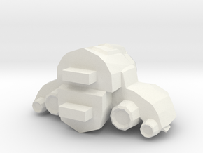 Legion - 005 Engine - 01 Chassis Optimization in White Natural Versatile Plastic