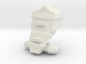 Legion - 002 Torso - 03 Augmented Plating in White Natural Versatile Plastic