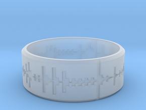 Amen, Brother - Amen Break Ring (size R 1/2)  in Smooth Fine Detail Plastic