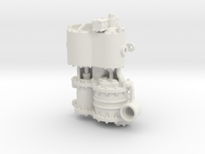 Air Compressor G Intake in White Natural Versatile Plastic