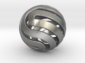 Ball-14-4 in Natural Silver