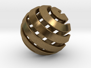 Ball-14-3 in Natural Bronze