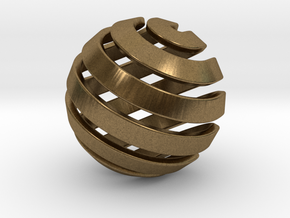 Ball-14-2 in Natural Bronze