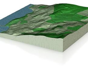 Terrafab generated model Sat Sep 12 2015 15:55:41  in Full Color Sandstone
