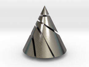 Conic Sections in Polished Nickel Steel