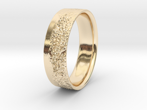 The Alps Ring in 14k Gold Plated Brass