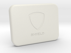 Shield for Blackmagic Camera Screen in White Natural Versatile Plastic