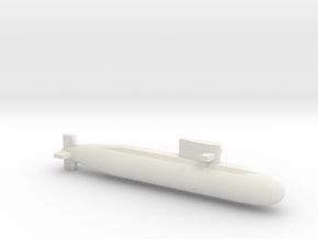 039A, Full Hull, 1/1800 in White Natural Versatile Plastic