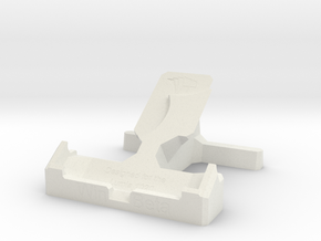 Lumia 1020 Desk Stand in White Strong & Flexible