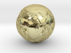 Earth Seabed in 18k Gold