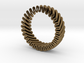 MYTO T // Mitochondria Ring in Polished Bronze