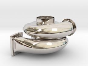 Turbo Keychain small in Platinum