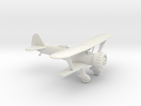 1/100 Henschel HS123 in White Natural Versatile Plastic