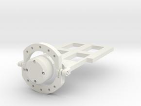 Animatrionic Eye Mechanism Version 1.5 in White Natural Versatile Plastic