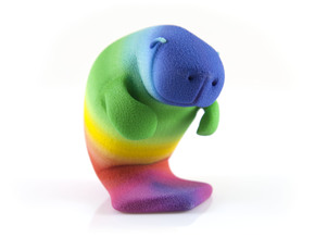 Oh, The Hue Manatee! in Full Color Sandstone