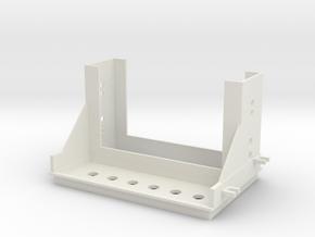 Miata Radio Switch Panel in White Natural Versatile Plastic