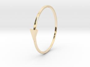 yvonne in 14k Gold Plated Brass