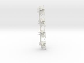 Newbeetubs in White Natural Versatile Plastic