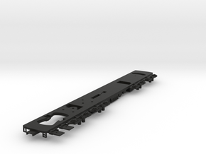 HO Frame for R44/R46 A and B Cars Powered in Black Natural Versatile Plastic