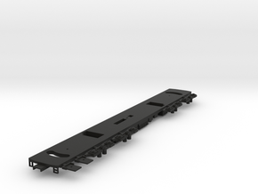 HO Frame for R44/46 A and B Cars Nonpowered in Black Natural Versatile Plastic