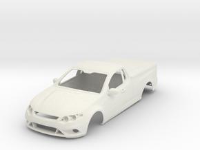 1:24 FordFalcon FG Ute in White Natural Versatile Plastic